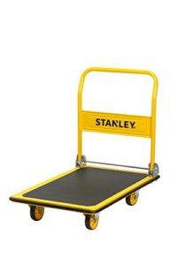 Plattformwagen klappbar--Stanley Plattformwagen klappbar 300 kg ♥ rostfreier Stahl ♥ Gelb