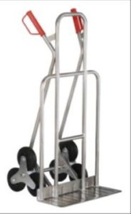 JRIP - Alu - Treppenkarre ♥ Diese Sackkarre ist dauerhaft und schwer belastbar und besteht auch nach Jahren noch ihren alltäglichen Transportaufgaben. ♥ Vollgummireifen