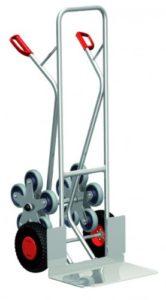 Cordes Alu-Treppenkarre ♥ Aluminium Treppenkarre mit 2 fünfarmige Radsterne