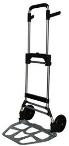 Pavo 8001040 Faltbare Sackkarre ♥ Diese grau, schwarze Sackkarre mit einer Tragkraft von bis zu 120,0 kg hilft dir, auch schwere Gegenstände ohne große Mühe zu transportieren und ordentlich zu verstauen.  ♥
