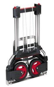RuXXac-cart Exclusive ♥ Mit dem elastischen Spannband kann jedes Ladegut unabhängig von Form und Gewicht optimal auf der Karre festgezurrt werden. ♥ pannensichere Bereifung