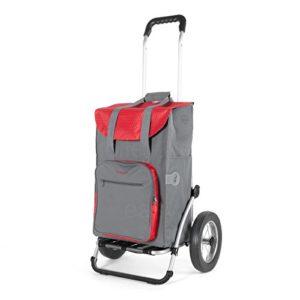 Andersen Einkaufstrolley Royal ♥ Cool: geräumige Falttasche mit 45 Liter Volumen und integriertem Thermofach (12 Liter)  ♥ mit eleganten Metallspeichen Rädern