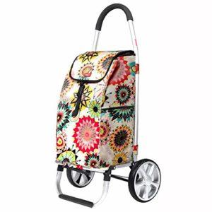 Einkaufstrolleys ♥ Kompaktes und faltbares Design für platzsparende Lagerung ♥