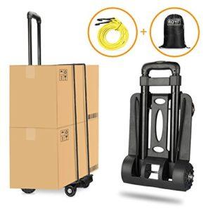 Wilbest Gepäckwagen Aluminium ♥ Es ist ideal für den Transport von Lebensmitteln, Gepäck, Bettwäsche, schweren Kisten, kleine Möbel auf der Treppe ♥